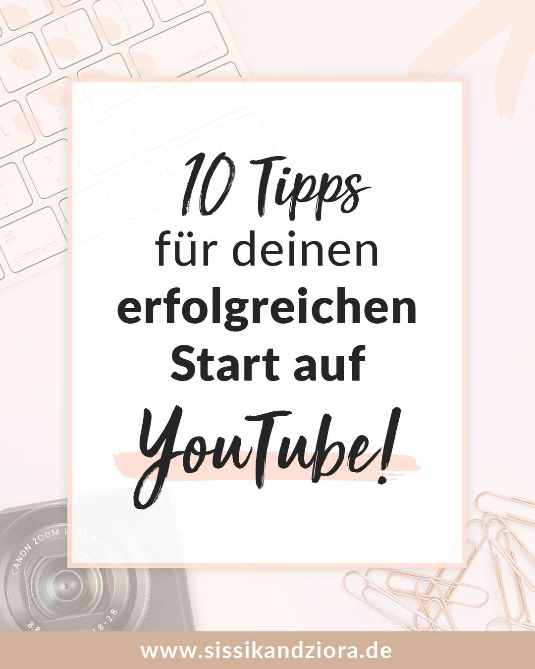 Mit YouTube starten, deine ersten Schritte auf YouTube