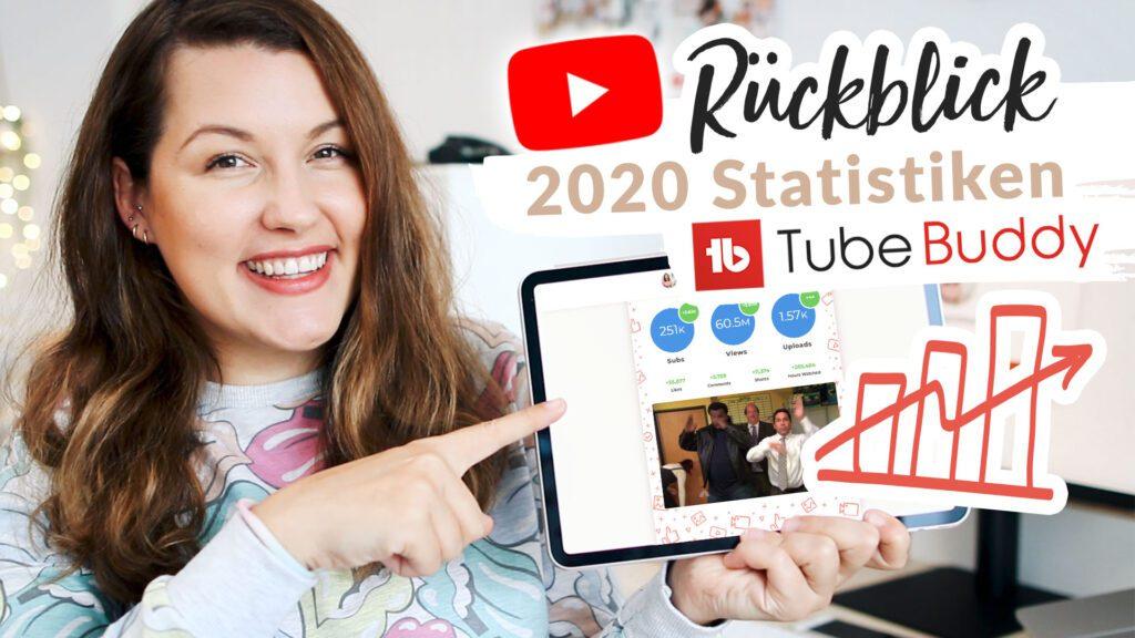 YouTube Kanal Rückblick mit TubeBuddy