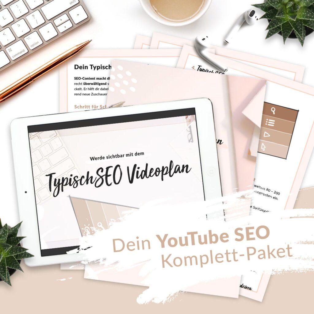 YouTube SEO - dein kompletter TypischSEO Videoplan für YouTube