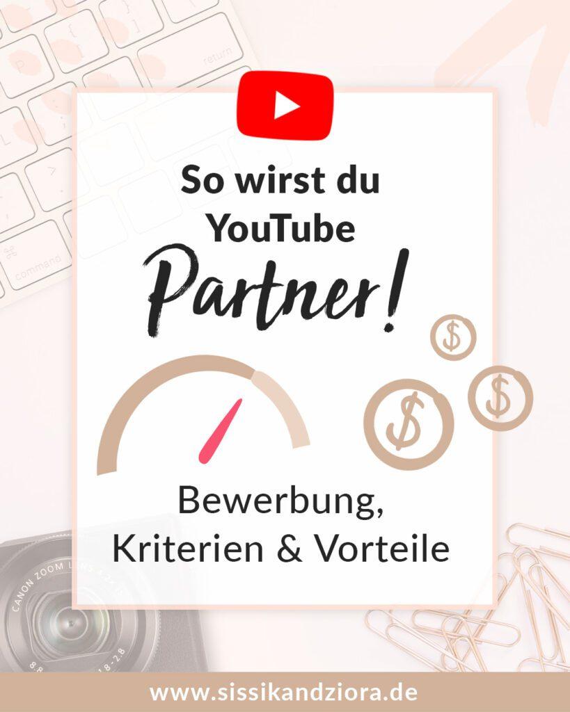 YouTube Partner werden und Geld verdienen