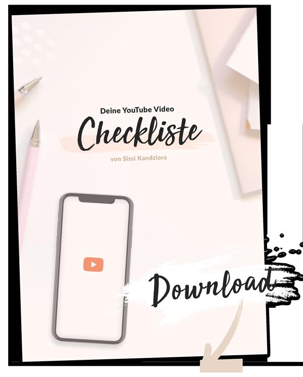 YouTube starten mit Plan - deine YouTube Video Checkliste