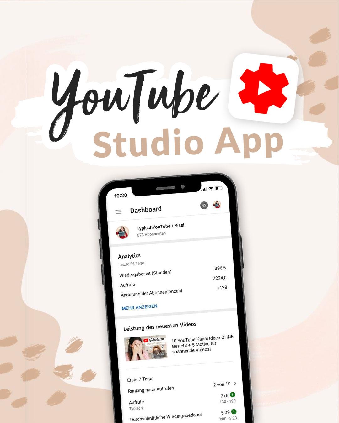 YouTube Studio app