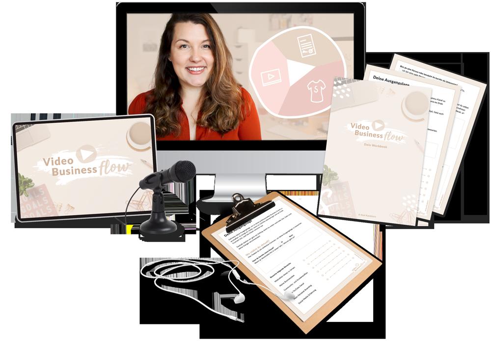 Video Business FLOW - Mit YouTube Geld verdienen und Kunden gewinnen